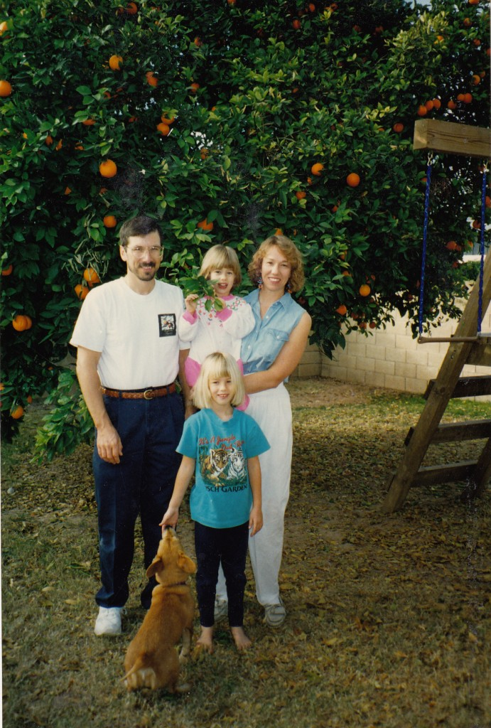 Krebs family circa 1995