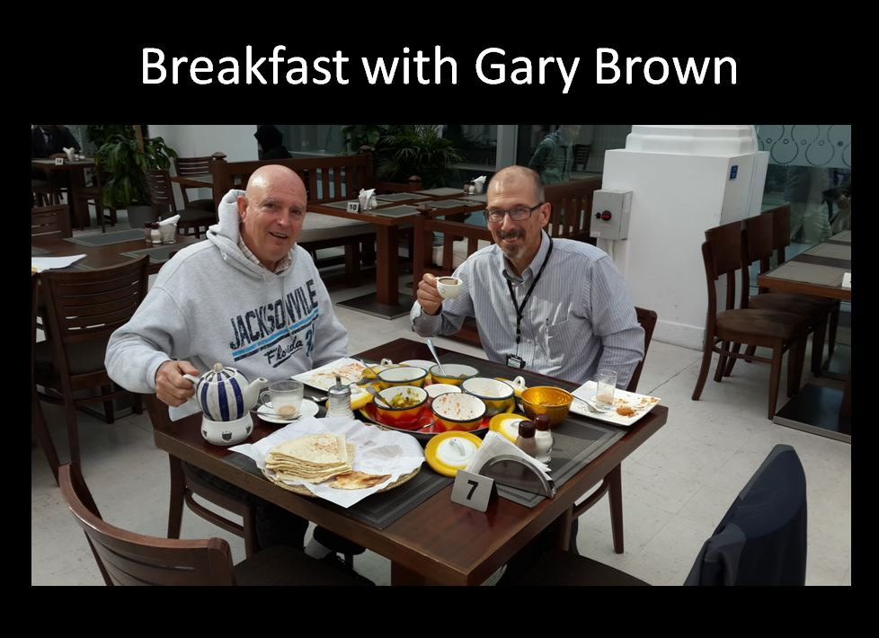 Breakfast with Gary Brown